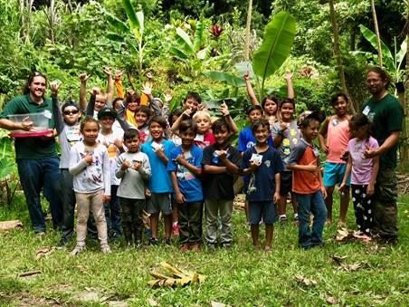 Kids at Hawaii Nature Center