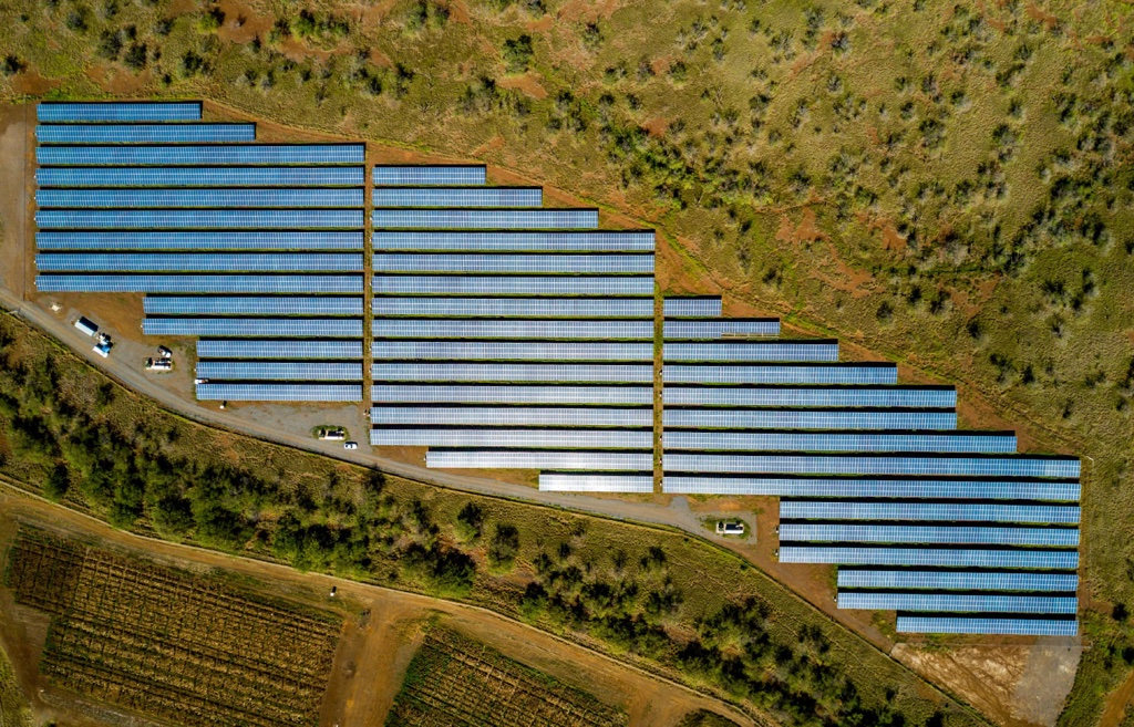 Utility Scale Solar Farm – Kihei