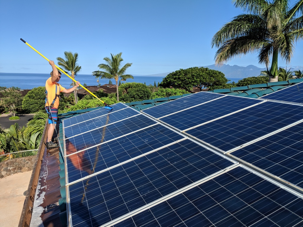 Hawaii Solar Panel Cleaning and Maintenance