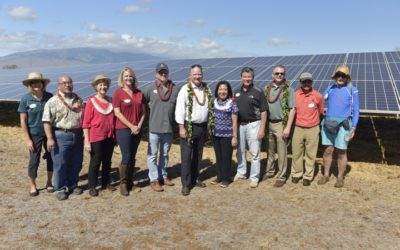 Maui's First Solar Farms Blessed